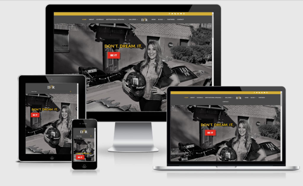 dina parise-dina parise racing-carchix-crank it media-socialmedia-website-design-jeanette desjardins